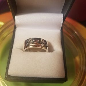 James Avery love and hearts ring